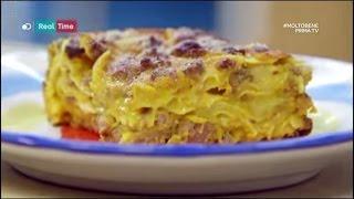 molto bene benedetta parodi lasagne zucca e salsiccia