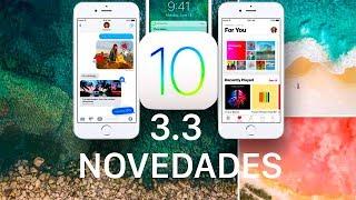 iOS 10.3.3, estas son sus novedades