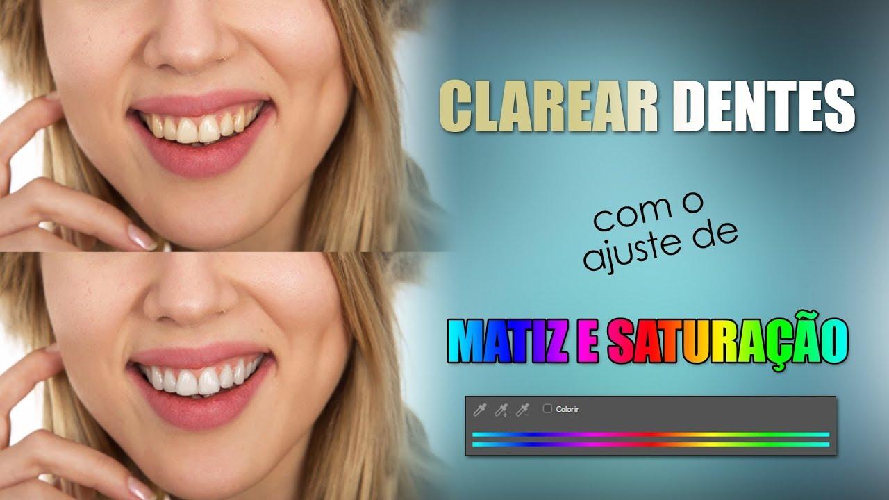 Clarear Dentes No Photoshop Youtube