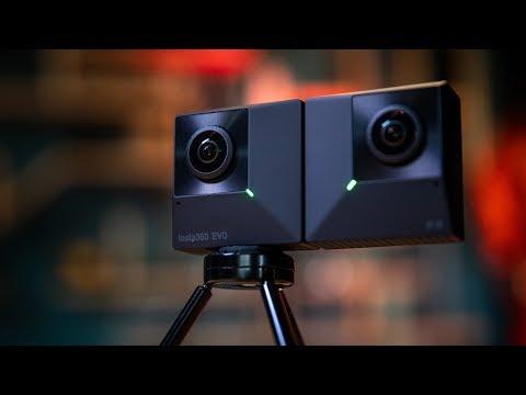 Insta360 EVO Convertible VR180 Camera!