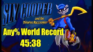 Sly 1 Any% Speedrun in 45:38 (World Record)