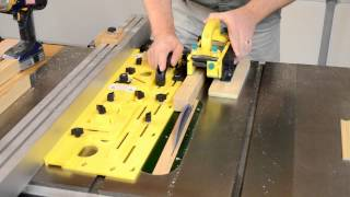 Make Beautiful Tapered Legs Up To 8-sides Microdial Tapering Jig By Microjig