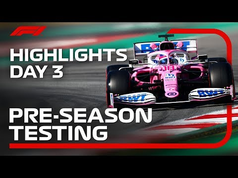 2020 Pre-Season Testing: Day 3 Highlights