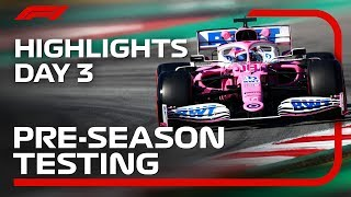 2020 Pre-Season Testing: Day 3 Highlights