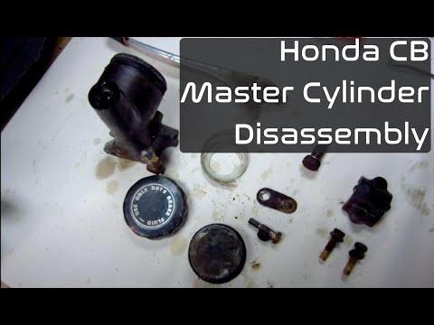 Honda CB Motorbike workshop manual