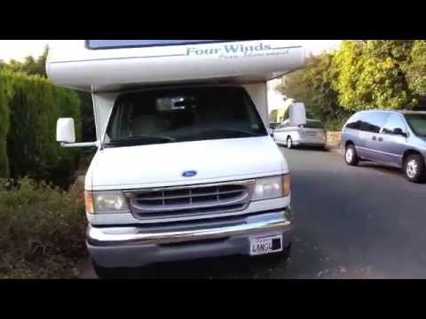 1997 Ford E350 Four WInds RV motor home - YouTube