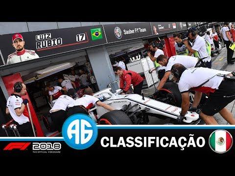 F1 2018 CARREIRA - CLASSIFICAÇÃO GRANDE PRÊMIO DO MÉXICO (Português-BR)