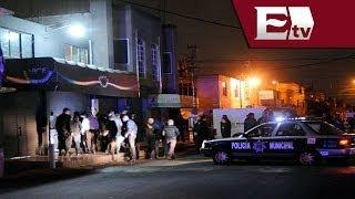 Balacera en bar de Nezahualcóyotl deja 7 lesionados / Titulares con Vianey Esquinca