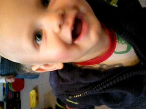 Brian James Thomas Walking- 13 Months