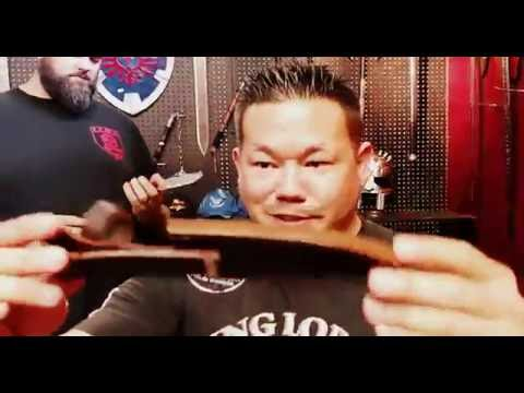 """NEW """"Red Deer"""" Fixed Blade Models At Song Blade Company!"""