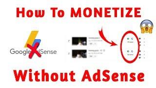 How to Monetize YouTube Channel Without AdSense || YouTube Se Paise Kamao Bina AdSense Ke ??