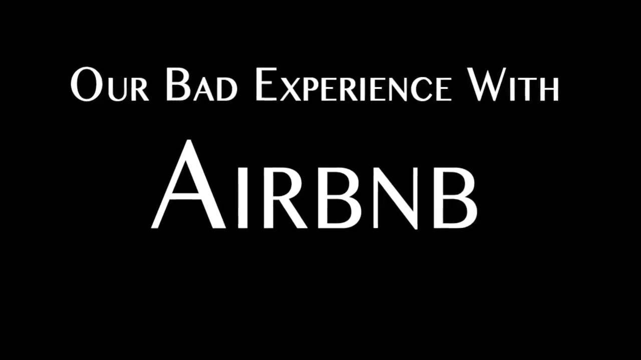WORST AIRBNB EXPERIENCE (GROSS FOOTAGE)