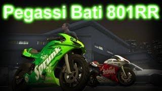 GTA V - How To Get Pegassi Bati 801RR (Ducati 1198) HD