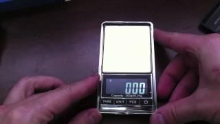 Balanca de precisão - 200g de 0,01g - Digital Scale Pocket Scale