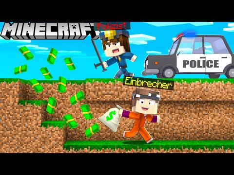 EINBRECHER vs. POLIZIST in Minecraft!