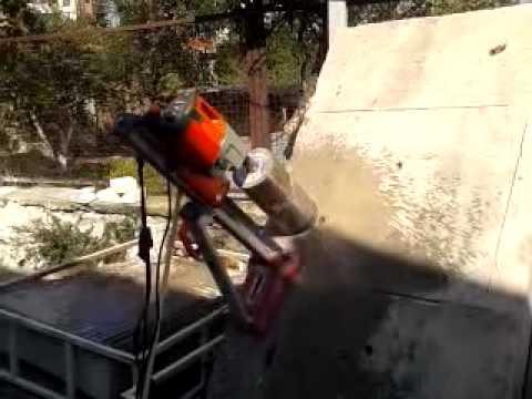 Otomatik karot beton kesme makinesi