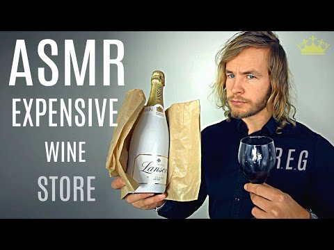 Expensive Wine Care - ASMR ★ Rude English Gentleman ★