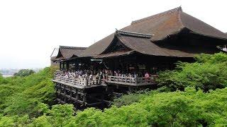 Kiyomizu dera - Kyoto(Киёмидзу-дэра (清水寺) — буддийский храмовый комплекс в районе Хигасияма города Киото (Япония). Полное назван..., 2016-04-24T20:43:26.000Z)