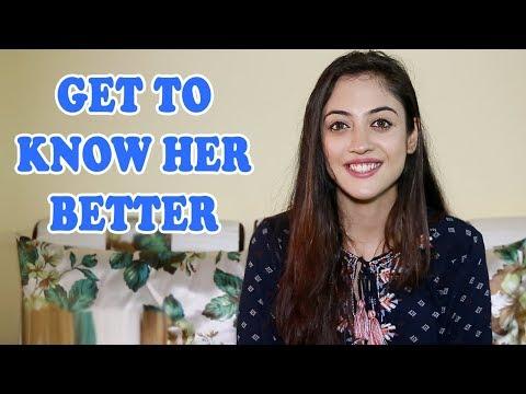 Aditi Sharma Slam Book Segment With Telly Face | EXCLUSIVE