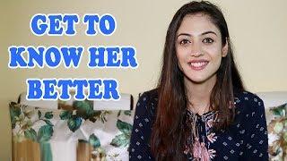 aditi sharma slam book segment with telly face exclusive