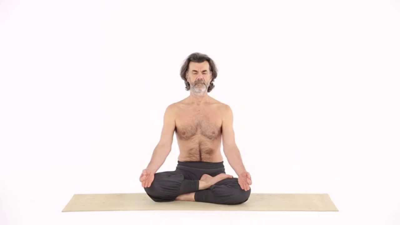 Half Lotus Pose Ardha Padma Asana Youtube