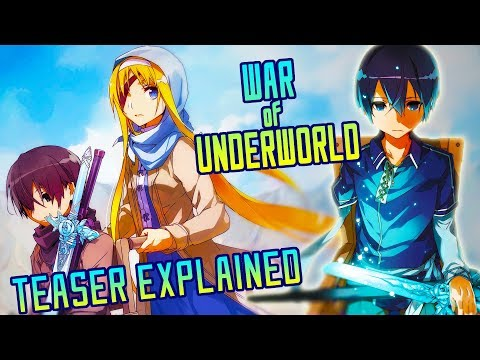 sword-art-online-alicization:-war-of-underworld-teaser-explained-|-gamerturk-reviews