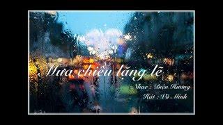 Mưa chiều lặng lẽ - Diệu Hương - Vũ Minh