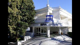 СПА отель Приморский Парк 4 Ялта Крым обзор отеля территория пляж