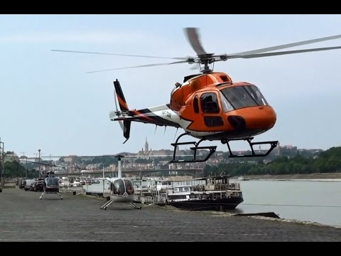 Hungaroring Formula 1 helicopter transfer from Budapest, Dráva Heliport