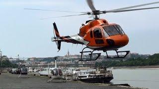 Hungaroring Formula 1 helicopter transfer from Budapest, Dráva Heliport