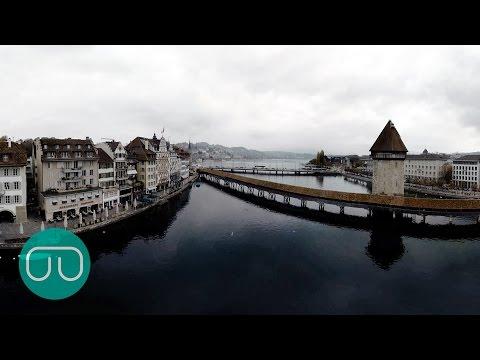 360°-Drohnenflug über Luzern