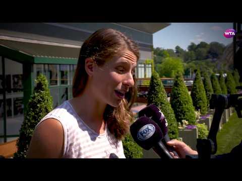 Johanna Konta   2017 Wimbledon Pre-Tournament Interview