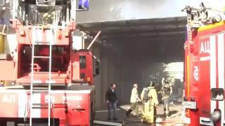 Пожар в Москве 27.08.2016