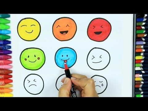 Repeat Dibujos Para Pintar Y Colorear Cómo Dibujar Emoji