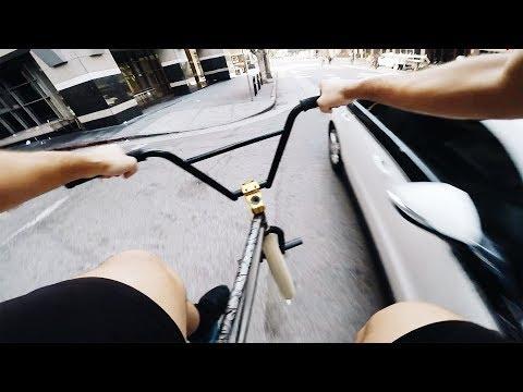 I'M BACK ON MY BIKE! (BMX IN THE HOOD)