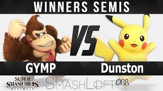 SL Ultimate #11 - GYMP (Donkey Kong) vs Dunston (Pikachu) - Winners Semis