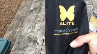 Alite Monarch Ultra-light Chair Preview