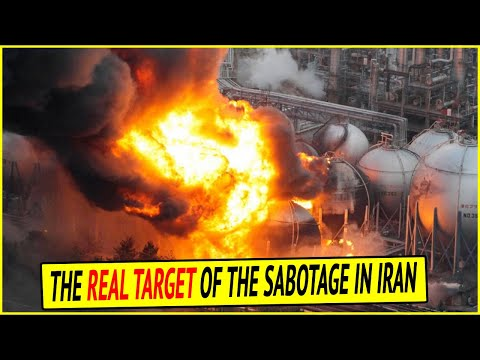 What might be the real target of the sabotage in Iran?