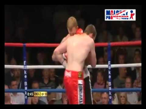David Price vs Tom Dallas R1&2 KO