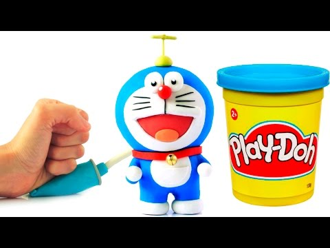 Doraemon Stop Motion Play Doh animation claymation video ドラえもん