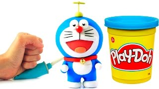 Doraemon Stop Motion Play Doh animation claymation video ドラえもん