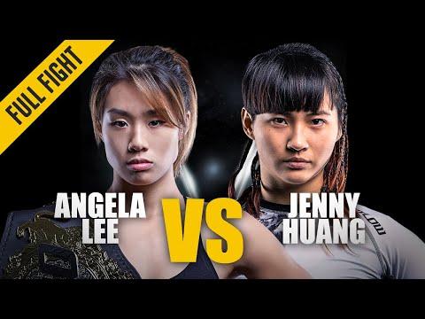 ONE: Best Fights | Angela Lee vs. Jenny Huang | Angela Lee In Her First Title Defense | Mar 2017