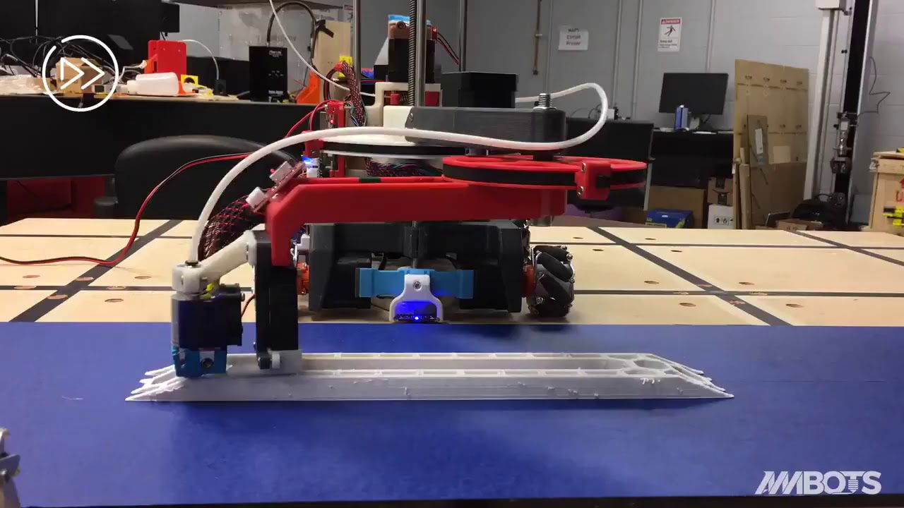 AMBots 3d-printing robots