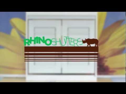 Rhino Shutters - Secure, Safe, Stylish