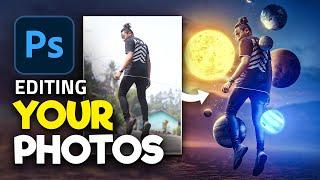 Editing YOUR Photos in Photoshop! | S1E4