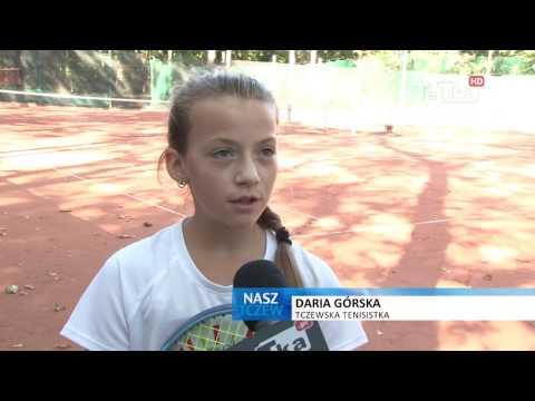 Daria pnie się w górę, tczewska tenisistka z medalami Mistrzostw Polski  - Tv Tetka Tczew HD