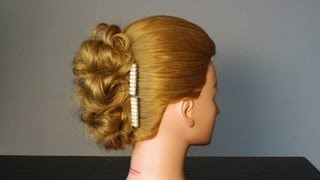 Прическа на Новый Год на средние волосы своими руками. Красиво и легко !(My Instagram : https://goo.gl/svRkp2 - Обязательно подписывайтесь ! Мой второй канал / New Channel : http://bit.ly/1TqLkbs Мой англ яз фэйсбу..., 2012-05-12T22:15:34.000Z)