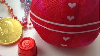 Make A Fun Valentine-themed Ball Of Surprises - Diy Crafts - Guidecentral