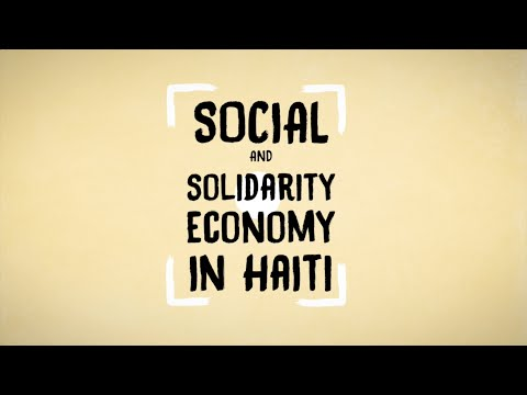 Social and Solidarity Economy in Haiti