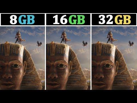 1440P (2K) Gaming | 8GB Vs 16GB Vs 32GB | Tested 15 Games |